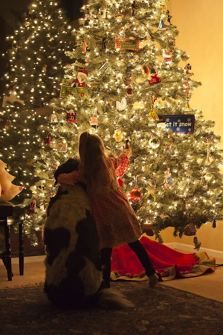 .. and tips on taking Christmas tree photos without a flash
