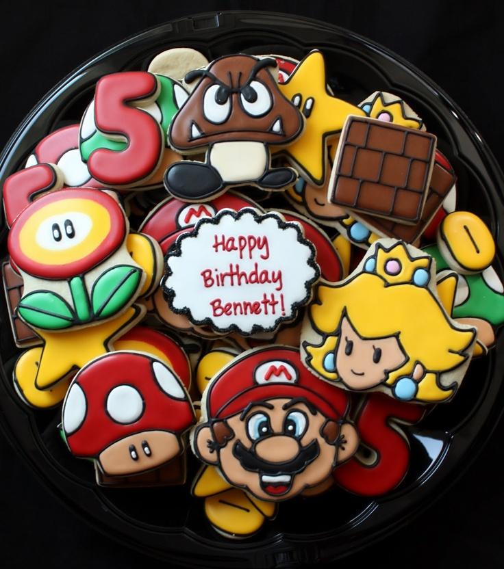Super Mario Bros cookies