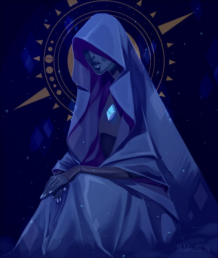 """snickerby:  Blue Diamond…… i love her design so much aaa everything abt it screams """"goddess"""""""
