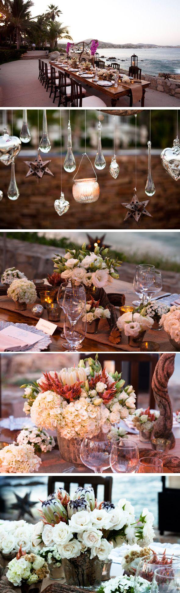 wedding table by Elena Damy Floral Design, mexico