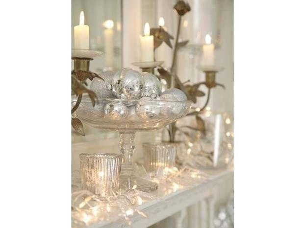 Addobbi natalizi: le decorazioni in bianco per la casa