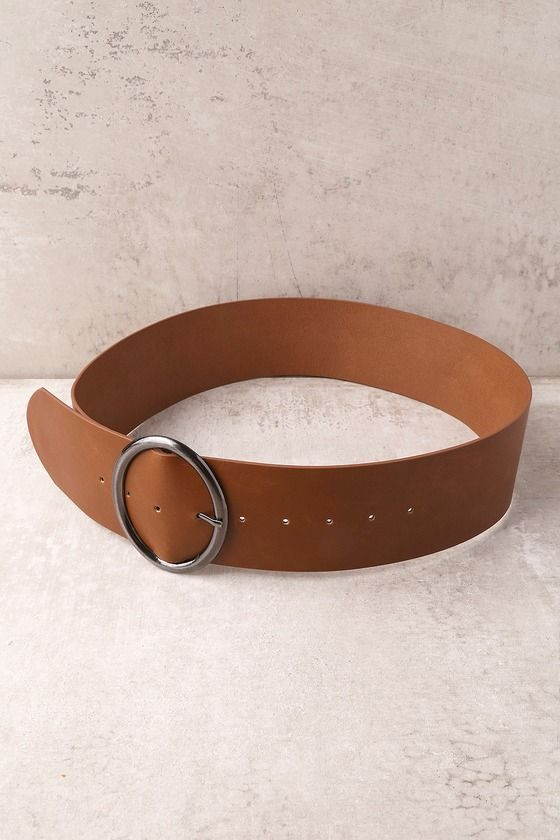 Show Time Brown Waist Belt 4
