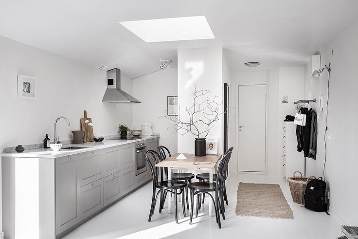 Fit a kitchen anywhere - via cocolapinedesign.com