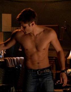 Jensen playing jason on smallville
