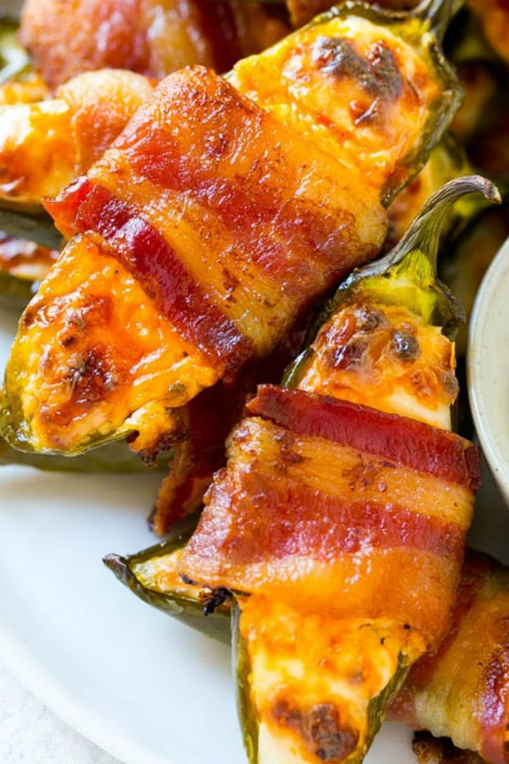 20 Easy To Make Appetizer Recipes Stuffed Jalapenos With Bacon Easy To Make Appetizers Appetizer Recipes
