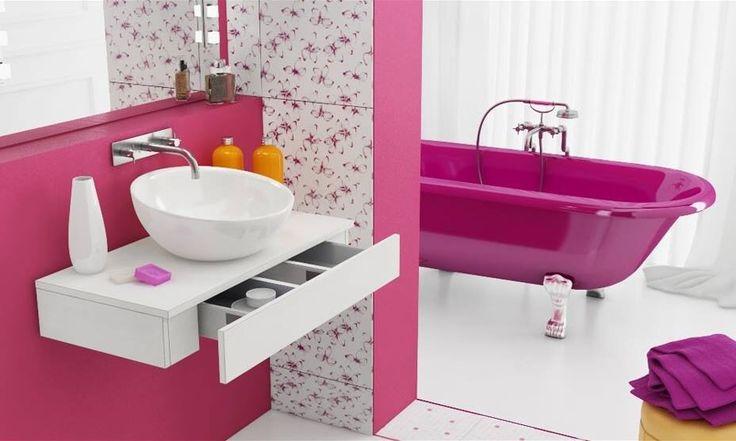 Baño para niñas