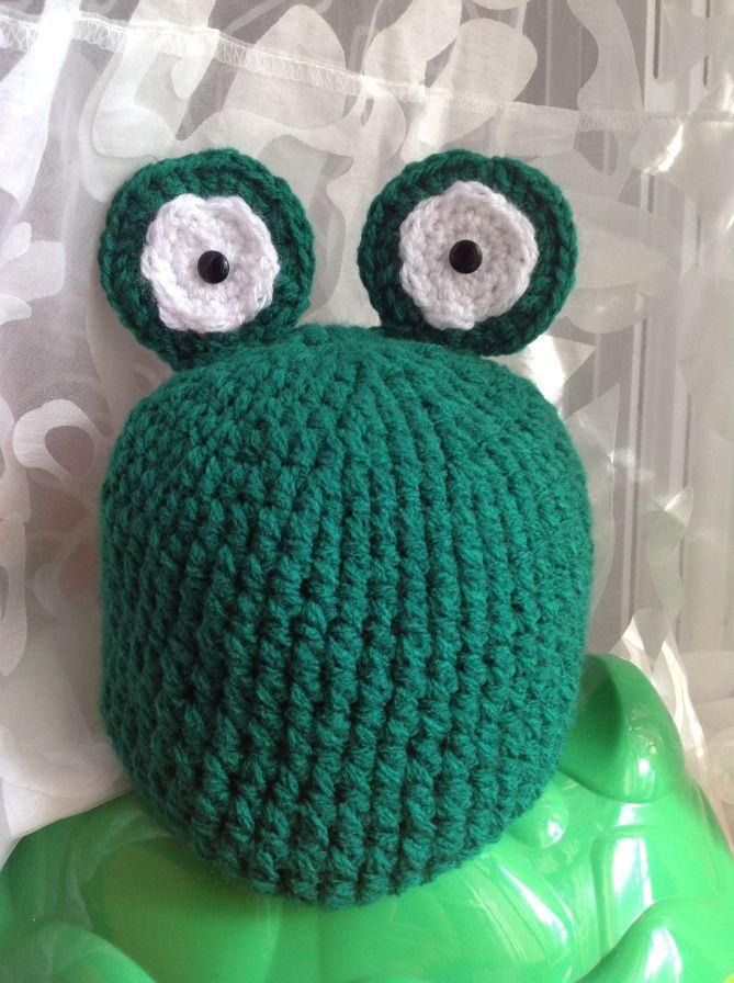 Cappello ranocchia uncinetto crochet