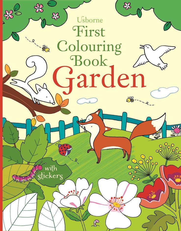 Usborne First Colouring Book: Garden.