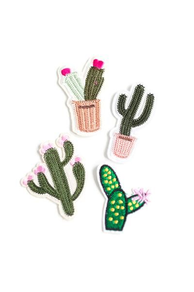 DIY Cactus Patches