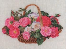 Gallery.ru / Фото #9 - Basket With Roses - natalytretyak