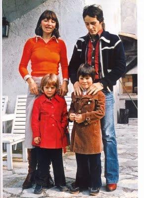 Joann, Gilles, Jacques (1997 World Champion) and Melanie Villeneuve