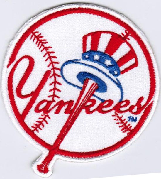 18f9e865eabe9 Details about MLB New York Yankees Major League Baseball Badge Iron ...