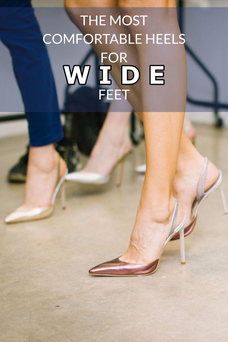 Comfortable Heels For Wide Feet Comfortable Heels Most