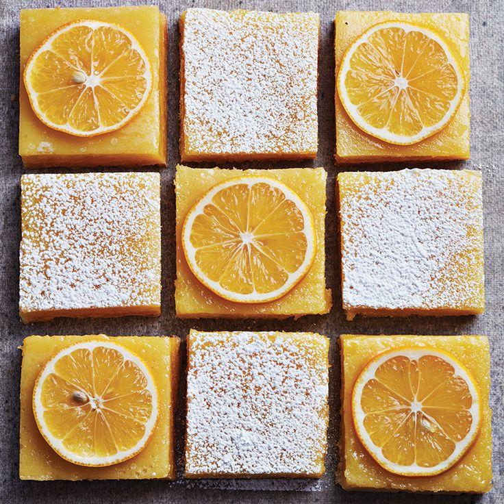 Homemade lemon squares - Chatelaine