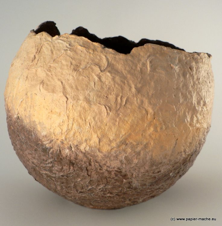 40 best images about tissue paper bowls paper mache on for Making paper pulp sculpture