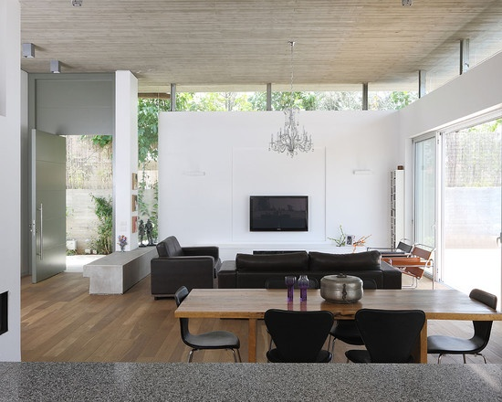 Modern Living Room Modern Minimalist House Plans Design, Pictures, Remodel, Decor and Ideas - page 7