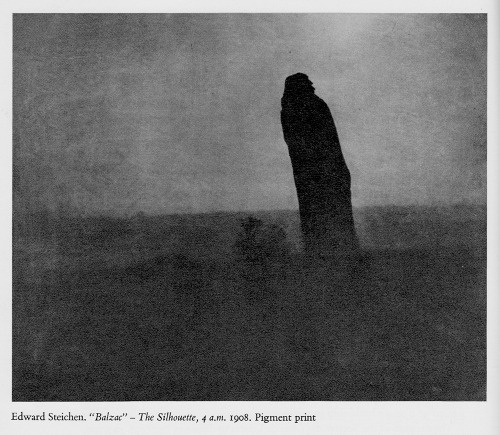 Edward Steichen, Balzac - The Silhouette, 4 a.m.1908