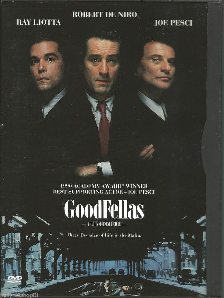 Goodfellas (DVD, 1997) Robert De Niro, Paul Sorvino, Joe Pesci, Lorraine Bracco