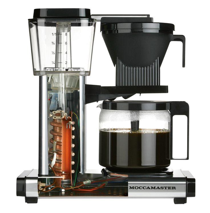 Alles andere als kalter Kaffee: die Brühtemperatur liegt zwischen 92 und 96 Grad
