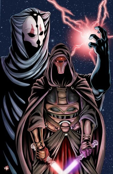Darth Revan and Darth Nihilus