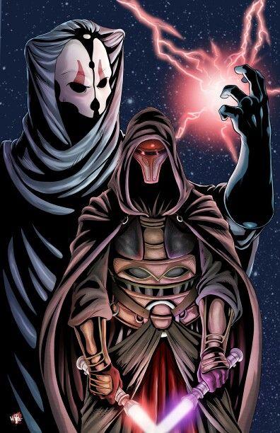 Darth Revan and Darth Nihilus