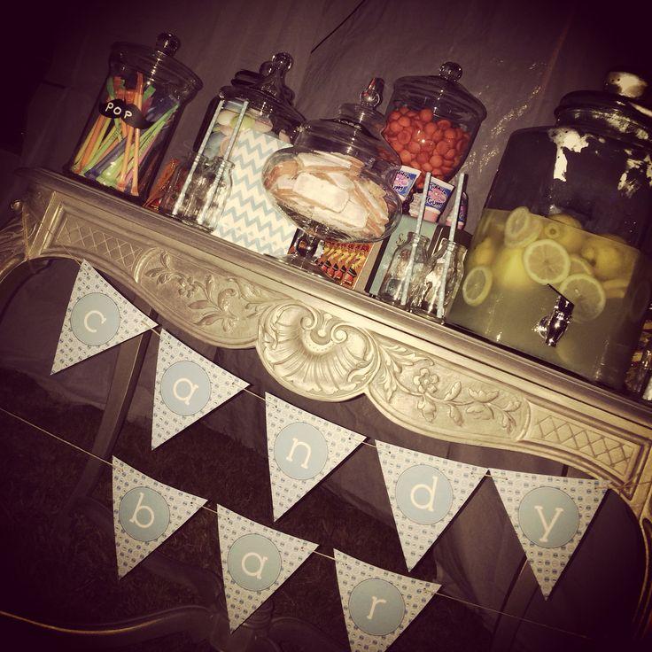 Candy bar avec citronnade