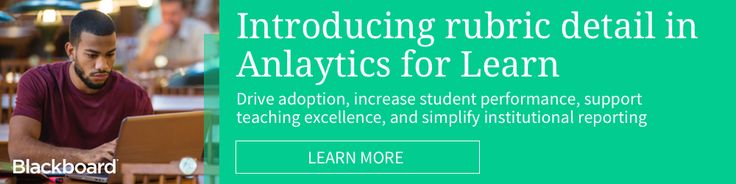 From LMS Reporting to Learning Analytics: Exciting updates to Analytics for Learn