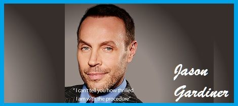 Jason Gardiner is best known as Dancing on Ice's most outspoken and acerbic judge. His role as style-guru on This Morning means that he is impeccably presented at all times and his background in choreography, dance and music mean that he has lived his life very much in the public eye since the age of 16. Jason Gardiner's shaved head has been his trademark for many years. But like many men, this was a style-statement for a reason – to cover up his thinning locks.