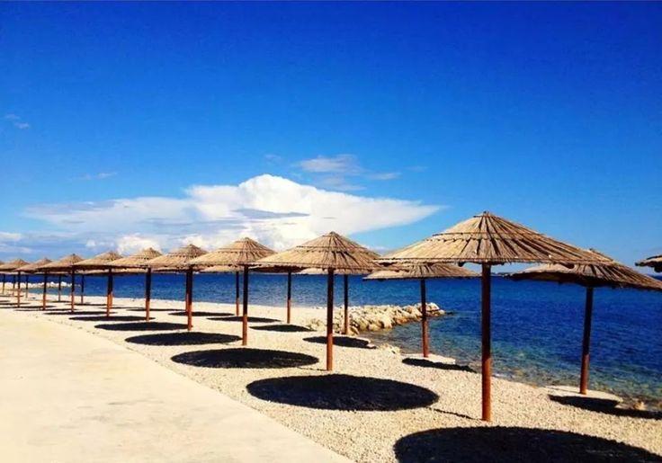 Beach in Vir (Croatia)