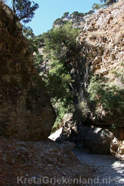 Imbros gorge/ Imbros kloof Crete/Kreta More info/ Meer informatie: www.kretagriekenland.nl