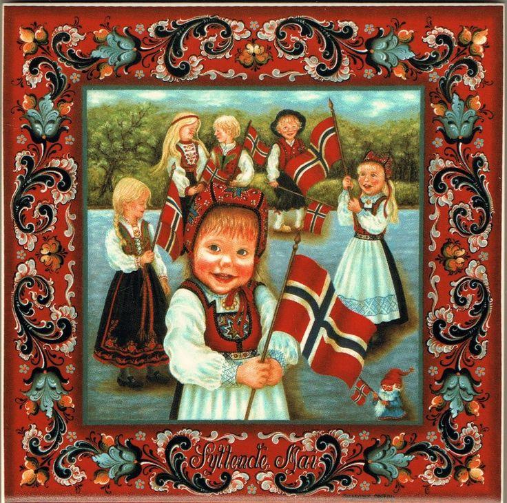 Suzanne Toftey. 17. mai - Norway
