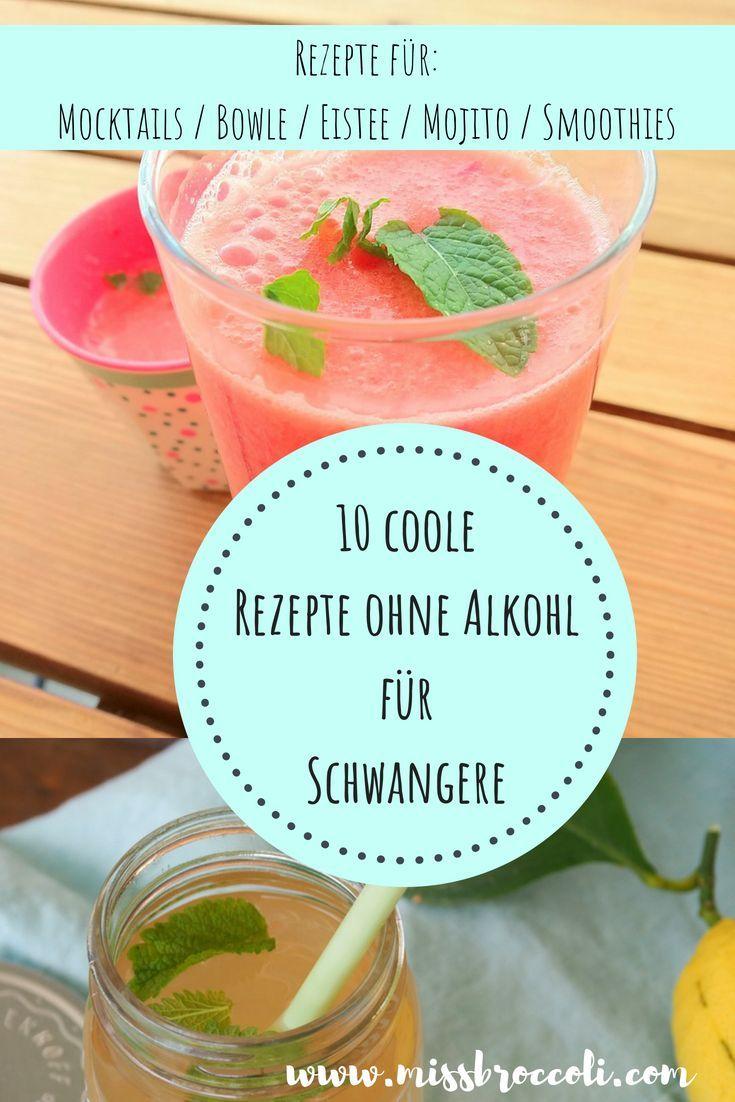 10 coole Rezepte für Mocktails, Smoothies, Lassi und Limonaden für Schwangere