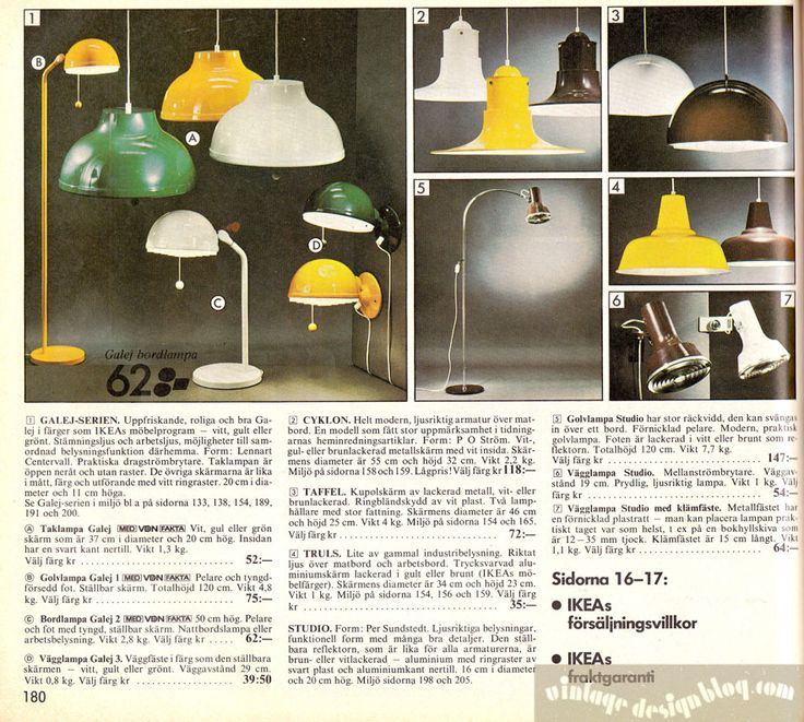 vintage ikea lamps. 42 best IKEA Catalogue Covers images on Pinterest