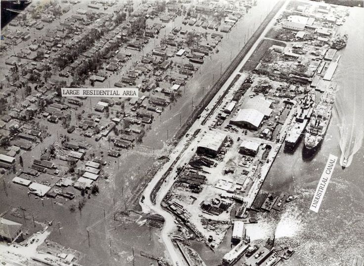 1965: Hurricane Betsy and its destruction The first hurricane to blow up my life