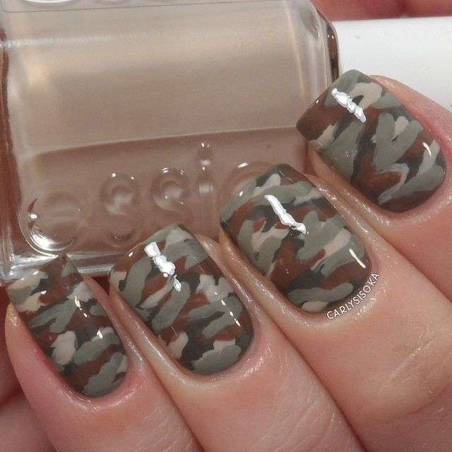 Instagram photo by carlysisoka #nail #nails #nailart