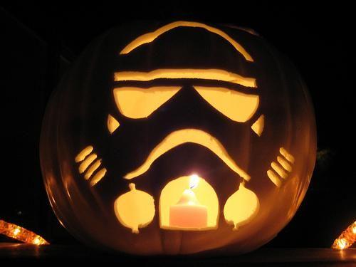 Imperial Stormtrooper Pumpkin 3
