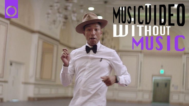 Happy - Pharrell Williams (#withoutmusic) #HAPPYDAY