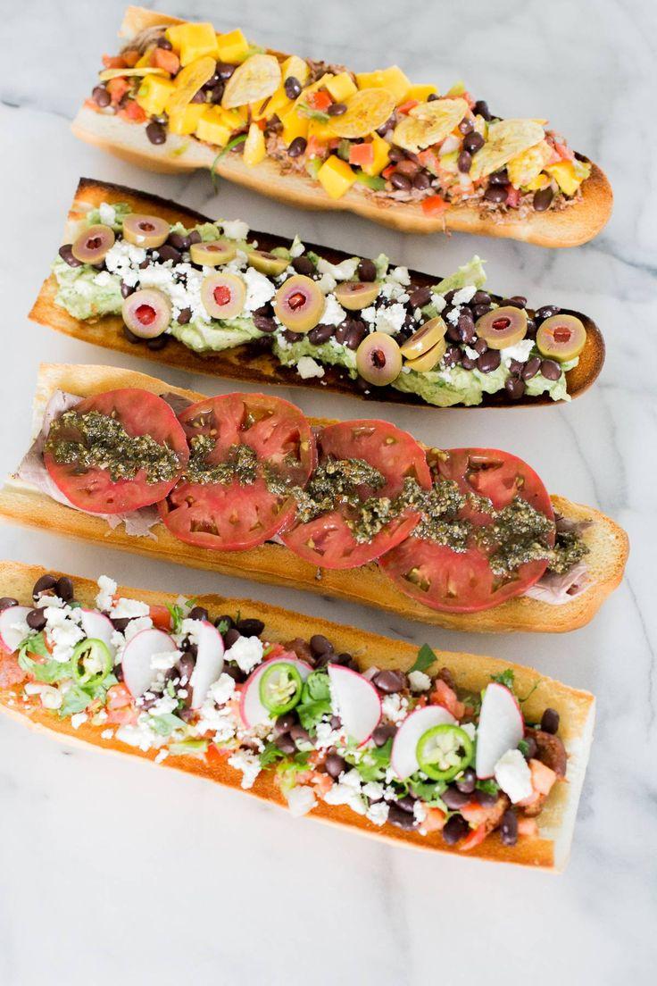 Fiesta de sandwich latinos