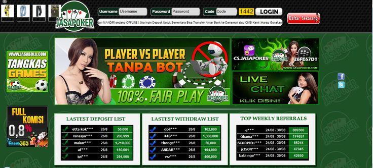 JASAPOKER – Agen Poker Online, DominoQQ Terpercaya
