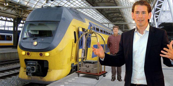 Sitzt im Urlaub fest: Sebastian Kurz hat sein Interrail-Ticket verloren