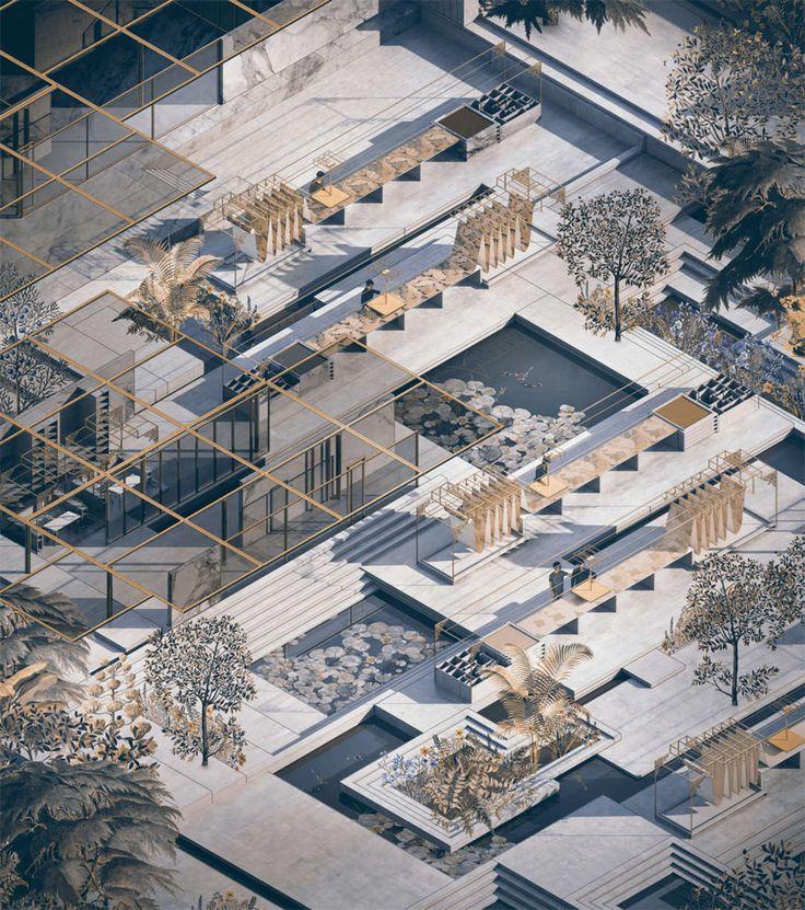 302 besten architecture 00paper bilder auf pinterest for Architektur werkstatt