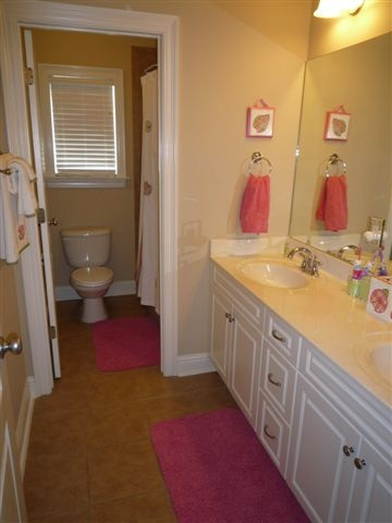 Jack and jill bathroom set up bathroom pinterest - Jack n jill bathroom ...