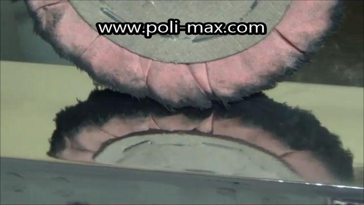 INOX polido com esmerilhadeira reta  #inox #polido #lixar #polir #lustrar #polimento #acabamento #lustro #espelho #espelhado #brilho #brilhante #YouTube #polimaxpolimento #profissional #industrial #polimax #fabricante #industria #brasileira #rebolos