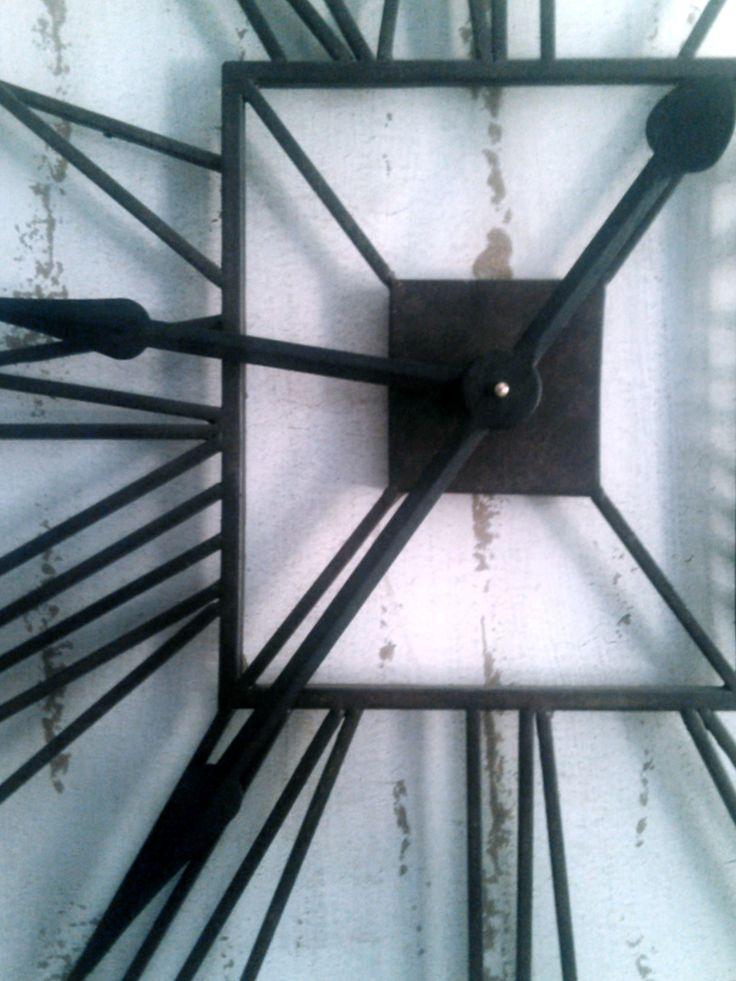 Big Wall Clock, 0.80x1m, Iron / 120€