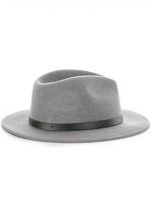 Brixton Messer Fedora - Light Grey