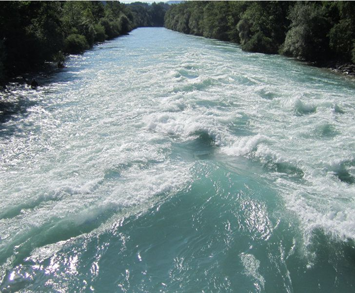 River Swimming Aare
