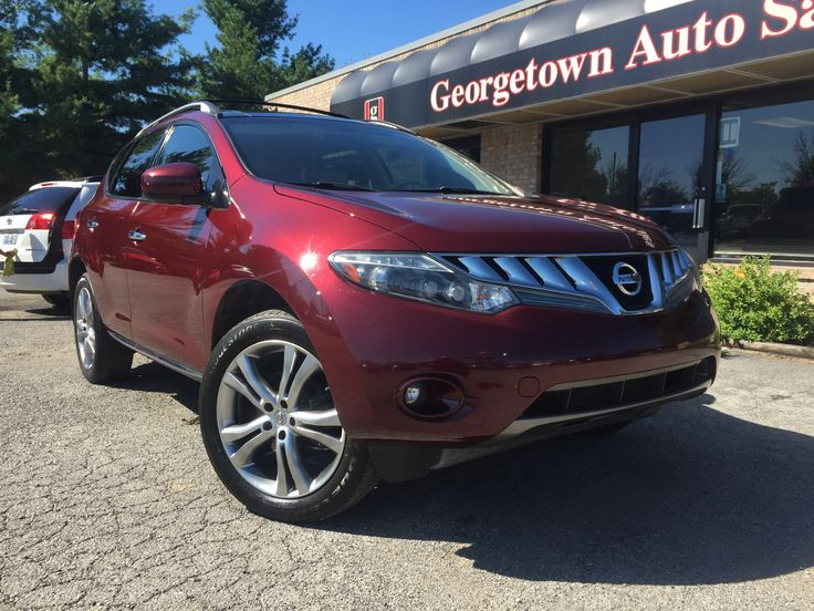 Used Nissan Murano LE for sale in Georgetown Kentucky.