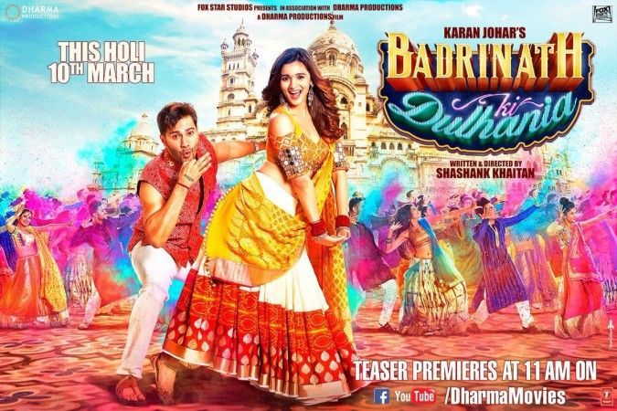 Badrinath Ki Dulhania trailer: Varun Dhawan and Alia Bhatt's love story is funny and adorable [VIDEO]