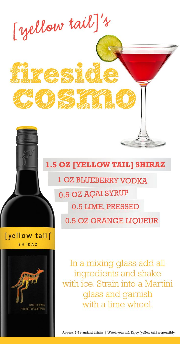 [yellow tail] wine[tail]