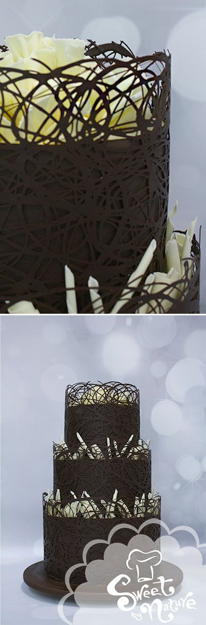 Chocolate Lovers Dream Wedding Cake